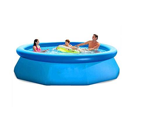 Piscina Piscina de Tierra antedicha Familia Verano Juego Niños Nadada de los niños Piscina Piscine de Aqua Sport Agua Azul Easy Set-244 * 76cm 2020