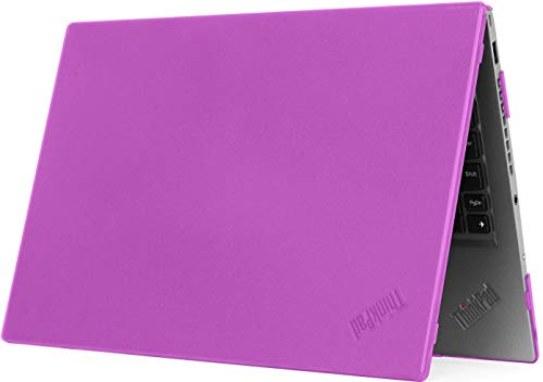mCover Hard Shell Case for 2020 14\' Lenovo ThinkPad T490 Series Laptop Computer (Purple)