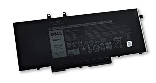 Dell Latitude 7400 Precision 3540 Laptop Battery 68Wh 4-Cell 4GVMP 9JRYT