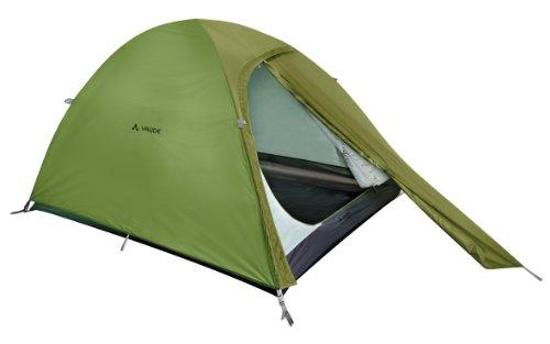 VAUDE Campo Compact 2P Tente dôme pour Le Camping Mixte Adulte, Chute Green, 305 x 140 x 112 cm