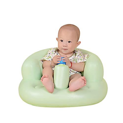 Aufblasbarer Kindersitz Baby Badhocker Multifunktions-Babysofa Trinkbabysessel Baby-Lernsitz