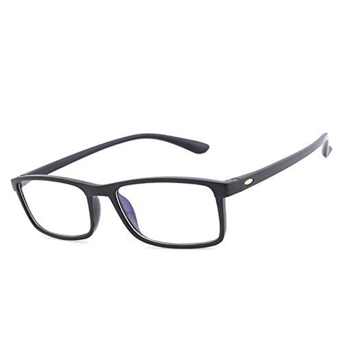BJHSYNDR Gafas de Bloqueo de luz Azul, Gafas de Lectura ultraligeras y antifatiga, para Hombres y Mujeres, Espejo, antirradiación BLU Ray, cómodas presbicia +1.0 +4.0
