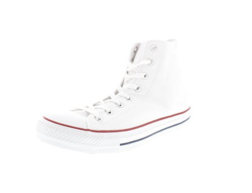 Converse Chuck Taylor Hi, Sneaker unisex adulto, Bianco (optical white), 51.5