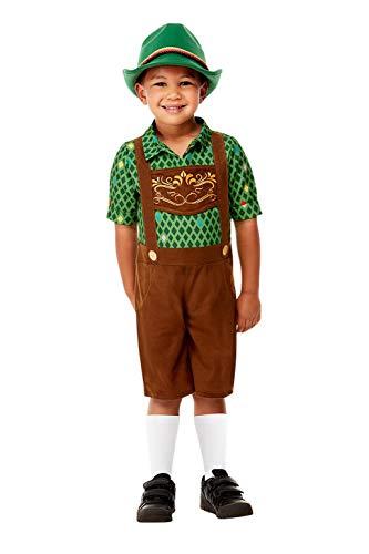 Smiffys 71079T2 Disfraz de Hansel, para niños, marrón, edad de 3 a 4 años