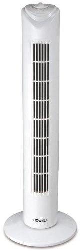 Howell VETT761MQ Ventilatore a Torre, Bianco, 80 cm