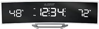 La Crosse Technology Curved Digital Alarm Clock