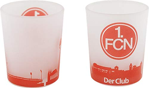 1. FC Nürnberg Windlicht 2er-Set