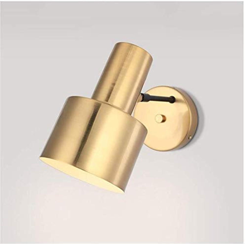 HBLJ Nachttischlampe, Wandleuchte, Italien, einfach, Eisen, Wandleuchte, einfache Mini-Laterne für Café, Flur, Korridor, Treppe, Bar