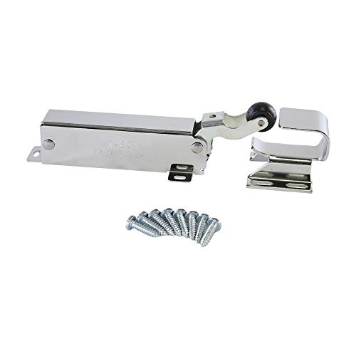 Kason 1094 SureClose Hydraulic Door Closer, Exposed with Flush to 3/4 Inch Hook, 11094000003_11094000026