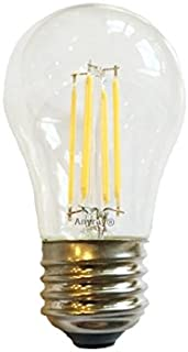 Anyray LED Filament A15 (40-Watts Equivalent) Appliance Freezer Refrigerator Light Bulb E26