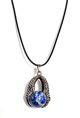 Pendentif griffe, avec lapis Lazuli