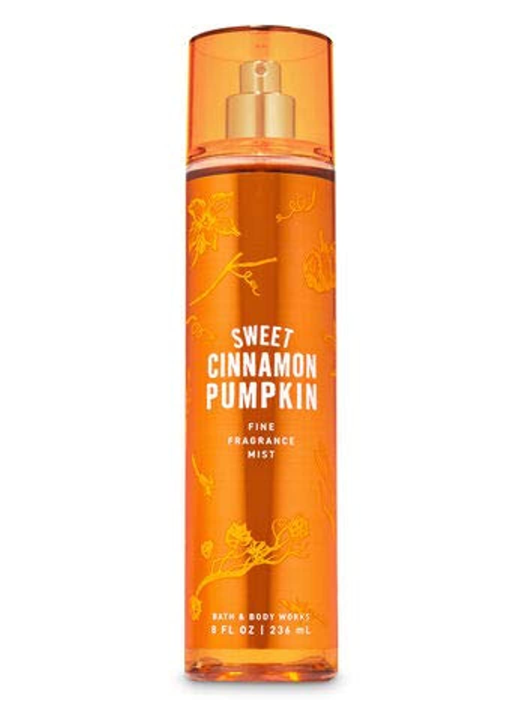サイレンアパート滑る【Bath&Body Works/バス&ボディワークス】 ファインフレグランスミスト スイートシナモンパンプキン Fine Fragrance Mist Sweet Cinnamon Pumpkin 8oz (236ml) [並行輸入品]