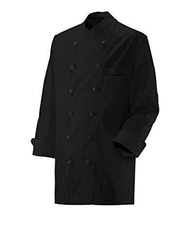 Exner Kochjacke Bäckerjacke Jacke Langarm Schwarz in Gr. 54 = Damen 46 für Damen & Herren