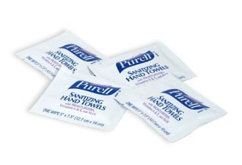 PURELL Cottony Soft Premium Hand Sanitizing Wipes 7' x 5' (80 Count Bulk Pack)