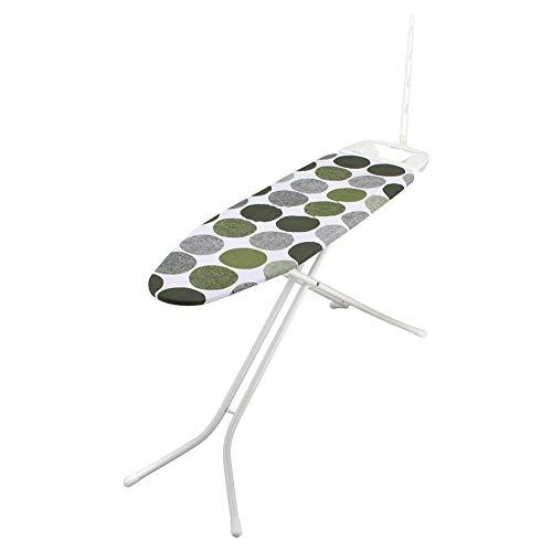 [ ロレッツ ] RORETS スタンド式 アイロン台 長さ112cm プリメーラ 高さ調節可 折りたたみ 9430 Primera Ironing Board (White) Dots Green スリム 薄型 おしゃれ 北欧 [並行輸入品]