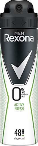 Rexona Men Deospray Active Fresh ohne Aluminium, 6er Pack (6 x 150 ml)