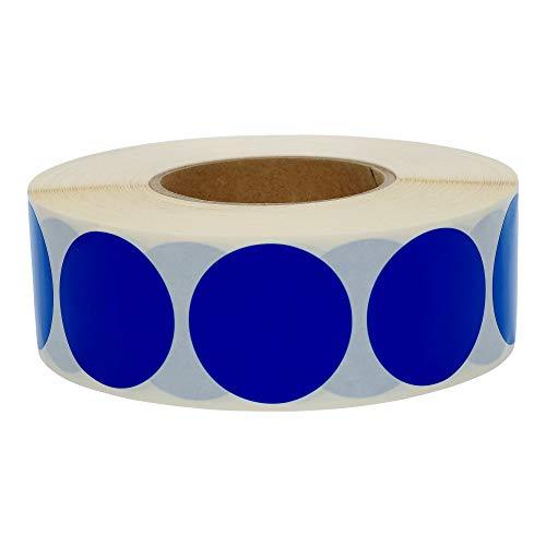 TE-Office 1000 St/ück Runde Klebepunkte Rolle Bunt Markierungspunkte Aufkleber Punkte Magenta 15 mm Polyproylen