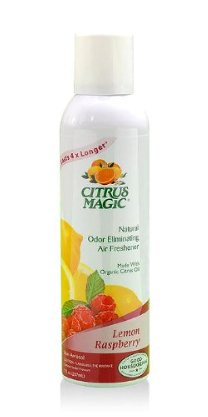 火リクルート鬼ごっこシトラスマジック エア フレッシュナー レモン ラズベリー 207ml 果皮抽出オイルをギュッと詰めた消臭?芳香ルームスプレー