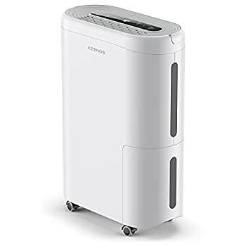 Kesnos 4000 Sq Ft Dehumidifier for Home Basement Bedroom with Intelligent Humidity Control Continuous Drain Hose and Wheel