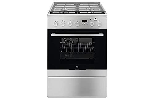 ELECTROLUX Elektrische Küche EKK64984OX 4 Gasherde, Multifunktions-Gasherd, belüftet, Klasse A, Größe 60 x 60 cm, Farbe Edelstahl