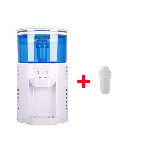 XIAOFEI Wasserspender Nach Hause, Integrierte Maschine Mit Direkter GeträNkeheizung, Desktop-Wasseraufbereitungsfilter Netto-Trinkwasser, Integrierte Wasseraufbereitungs