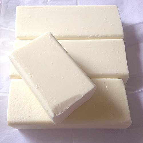 Karan Herbs Triple Butter Melt and Pour Soap Base - Shea Butter, Cocoa Butter and Mango Butter (100GM)