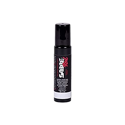 SABRE RED Pepper Spray with Tactical Clip Unit – Same Model Used by Police – Maximum Police Strength OC Spray for Self-Defense, 12-Foot (4M) Range, 30 Bursts – Easy to Carry Personal Protection