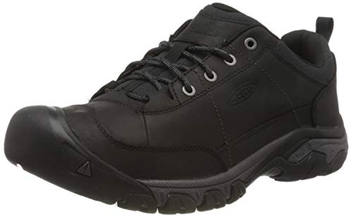 KEEN mens Targhee 3 Oxford Casual Hiking Shoe, Black/Magnet, 11 US
