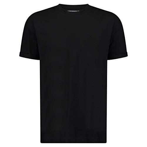 Drykorn Herren T-Shirt Thilo Schwarz M