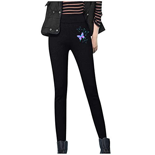Alueeu Leggings Deporte Mujer Térmicos Invierno Calietes Pantalones RopaDeportivos Talla Grande Pantalones Térmicamente Pantalones de Yoga Felpa para Al Aire Libr y el Día a Día