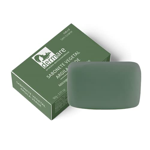 Sabonete de Argila Verde, Dermare