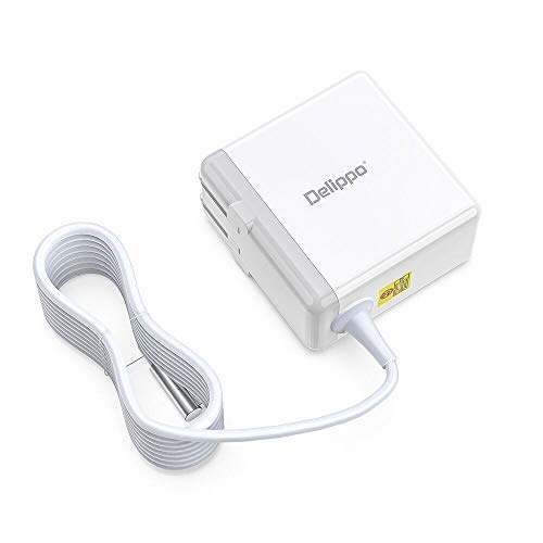 Delippo 16.5V 3.65A for Mac Book Pro Charger AC 60W L-Tip Power...