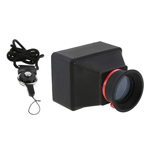 Homyl LCD Viewfinder Lupe Displaylupe Sucherlupe (3X Vergrößerung) für DSLR Kamera - 3,0 Zoll
