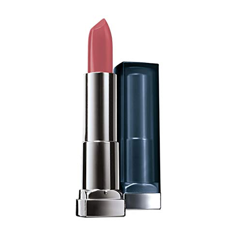 Maybelline New York Color Sensational Mattes Nudes Lippenstift Nr. 987 Smoky Rose, 1er Pack (1 x 4 g)
