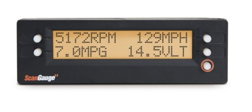 ScanGauge - SG2 II Ultra Compact 3-in-1 Automotive Computer with Customizable Real-Time Fuel Economy...