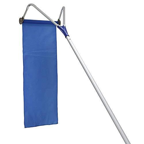DawnDR Roof Snow Rake Removal Tool 20ft Adjustable Extendable Handle, White