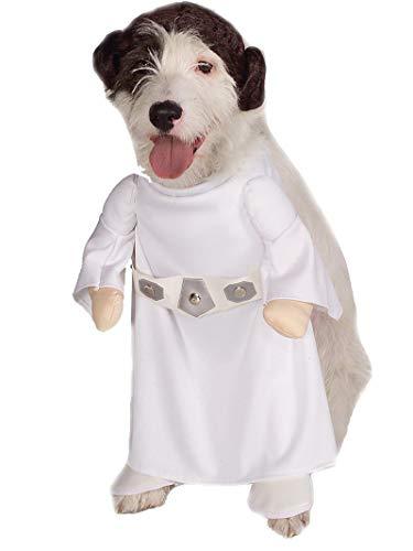 Rubies Officielle pour Animal Domestique Chien Costume, Princesse Leia, Star Wars – Petit