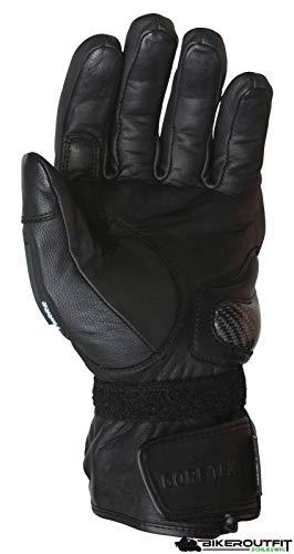 Rukka Handschuh Apollo GTX schwarz Leder Gore-Tex wasserdicht, 11 / XL