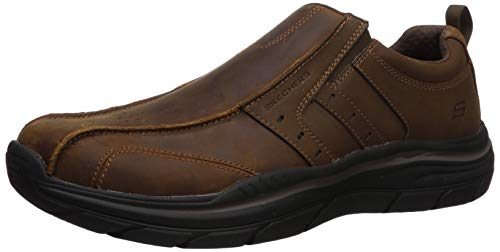 Skechers Men's Expexted Relaxed-Fit Expected 2.0 Wildon Moccasin, CDB, 10 Medium US