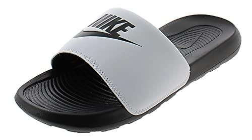 Nike Victori One Slide, Sandal Hombre, Black/Black-White, 42.5 EU