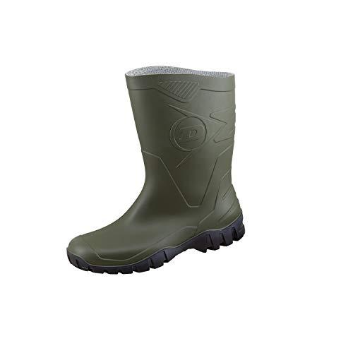 Dunlop Protective Footwear Unisex-Erwachsene Dee Gummistiefel, Grün (Green/Black), 45 EU