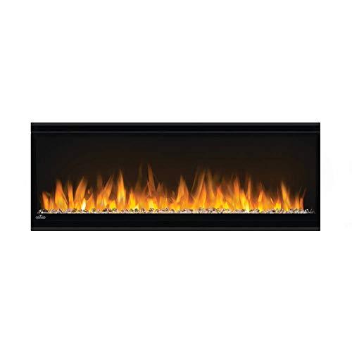 Napoleon Alluravision-NEFL42CHS-Slim Wall Hanging Electric Fireplace, 42 Inch Slim, Black