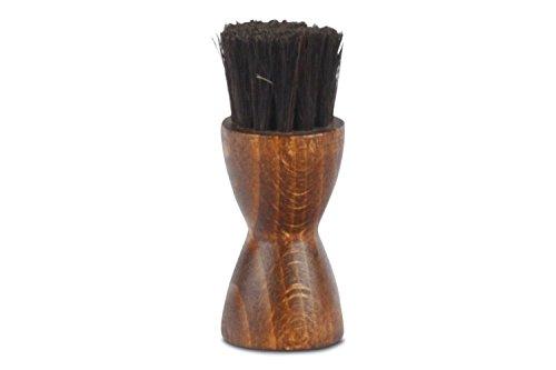 Langer & Messmer Cepillo aplicador redondo | Cepillo aplicador normal y cepillo aplicador redondo negro