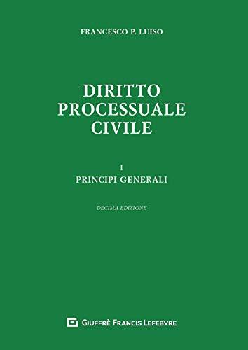 Diritto processuale civile: 1