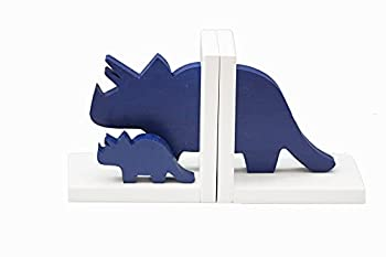 Old Mill Woodcuts Triceratops Family Dinosaur Bookends