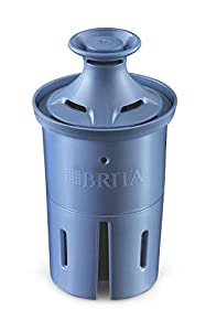 Brita Longlast Water Filter, Longlast Replacement Filters for Pitcher and Dispensers, Reduces Lead, BPA Free - 1 Count
