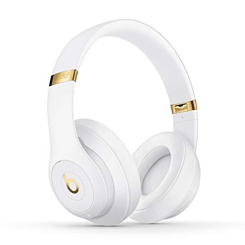 BeatsStudio3Wireless con cancelación de Ruido - Auriculares supraaurales - Chip Apple W1, Bluetooth de Clase1, 22Horas de Sonido ininterrumpido - Blanco