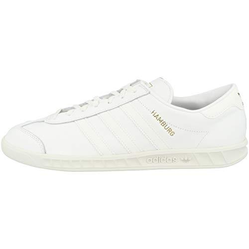 adidas Zapatillas de fútbol Hamburgo para hombre., color Blanco, talla 49 1/3 EU