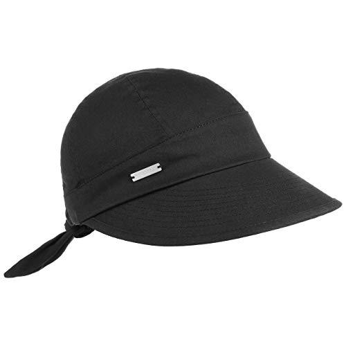 Seeberger Freizeitkappe Gr. One Size, schwarz - schwarz