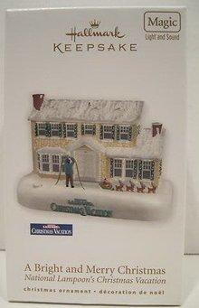 Schöne Bescherung Christmas Vacation Griswold House Hallmark Miniatur